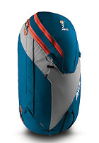 ABS Vario 32L Zip-On blue/orange