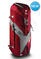 ABS Vario 45L+5L Zip-On red/grey
