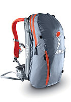 ABS Vario Zip-On 18 Ultralight silver/orange