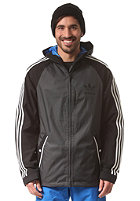 ADIDAS 3 Stripe Jacket black/dkgrey
