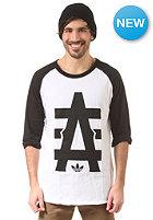 ADIDAS A Baseball S/S T-Shirt white/black