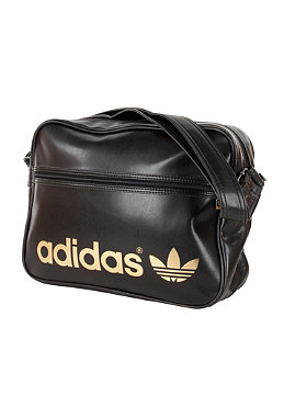 ADIDAS Ac Airline Bag black/metallic gold