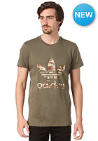 ADIDAS Adi Camo Trefoi S/S T-Shirt earth green s13