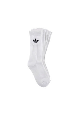 ADIDAS Adi Crew Socks 3-PK white