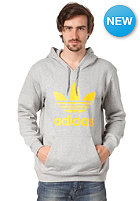 ADIDAS Adi Trefoil Hooded Sweat medium grey heather/sunshine