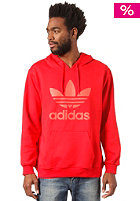ADIDAS Adi Trefoil Hooded Sweat vivid red s13/infrared