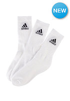 ADIDAS Adicrew Hc 3 Pack Socks wht/wht/black