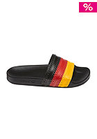 Adilette Flags Sandal black 1 / collegiate red / sunshine