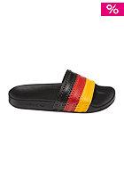ADIDAS Adilette Flags Sandal black 1 / collegiate red / sunshine