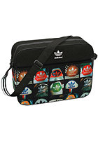ADIDAS Airliner Heel Bag black/multco