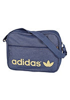 ADIDAS Airliner Jeans Bag uniform blue/metallic gold