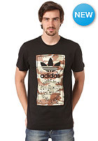 ADIDAS Camo Label S/S  T-Shirt black