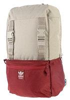 ADIDAS Campus Backpack light brown/colleg. burgundy mel./bright cyan
