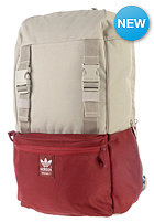ADIDAS Campus Backpack light brown/colleg. burgundy mel./bright cyan