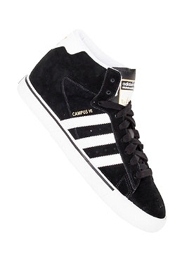 ADIDAS Campus Vulc Mid black 1 / running white ftw / metallic gold