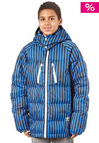 ADIDAS Down Boy Jacket bluebird / dark shale