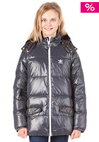 ADIDAS Down Jacket dark shale / black