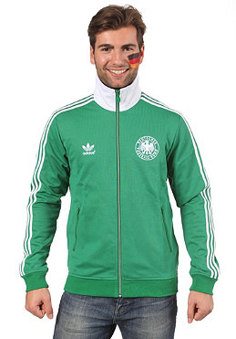 ADIDAS Euro 12 Tracktop Jacket core green/white