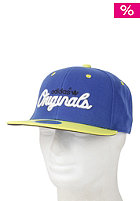 ADIDAS Flatbrim Cap true blue/vivid yellow s13/black/running white