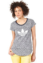 ADIDAS Flower S/S T-Shirt running white / legend ink s10