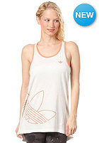 ADIDAS Fun Trefoil Tank Top running white/bliss coral s13