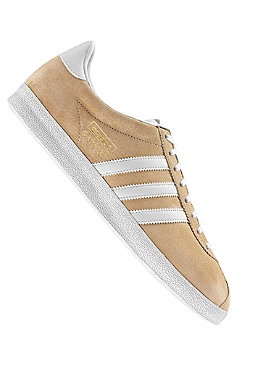 ADIDAS Gazelle OG tan blend/metallic gold/white