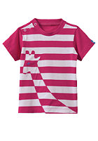 ADIDAS Giraffe S/S T-Shirt bright pink f12/white