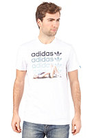 ADIDAS Girl Late S/S T-Shirt white