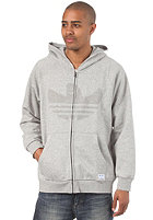 ADIDAS Gonz FZ Hooded Sweat medium grey heather