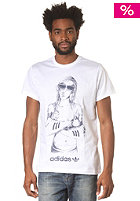 ADIDAS Handdrawn Girl S/S T-Shirt white