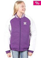 ADIDAS J College  Jkt power purple s12/white