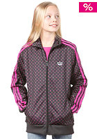 ADIDAS J Firebird Track Top Jacket black/vivid pink s13/white