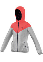 ADIDAS Kids Fun HFL G Tracktop Hooded Zip Sweat megrhe/redzes/legink