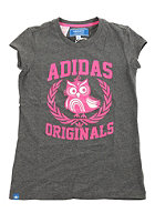 ADIDAS KIDS / Graphic S/S T-Shirt dark grey heather