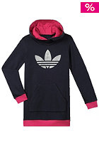 ADIDAS Kids J Trefoil Hooded Sweat legink/blapnk