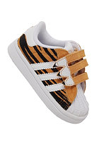 ADIDAS KIDS/ Tiger Superstar I CF joy orange s13/running white ftw/black 1