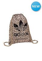 ADIDAS Leopard Gymsack Duffle Bag stone khaki f14-st/multicolor/black