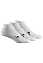 ADIDAS Lin Plain T Socks 3 Pack wht/wht/black