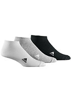 LIN Plain T Socks 3Pack white / grey / black
