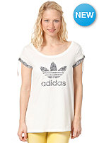 ADIDAS Logo Flow S/S T-Shirt running white