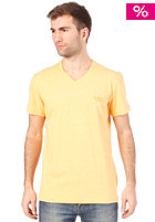 ADIDAS Originals V Neck S/S T-Shirt joy orange s13