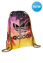 ADIDAS Palm Gymsack Duffle Bag multicolor/black