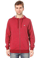 ADIDAS PB Hooded Zipper cardinal