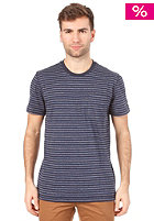 ADIDAS PB Striped S/S T-Shirt legend ink s10