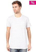 ADIDAS PB Striped S/S T-Shirt white