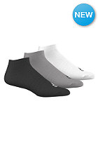 ADIDAS Per No-Show T 3 Pack black/mgreyh/white
