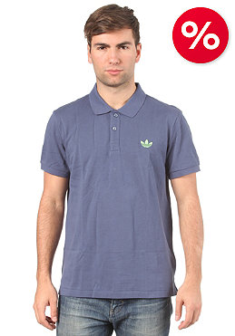 ADIDAS Pique S/S Polo Shirt power steel /macaw