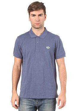 ADIDAS Pique S/S Polo Shirt power steel/macaw