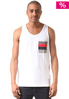 ADIDAS Pocket Tank Top wht/colred