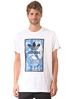 ADIDAS Shoebox Label S/S T-Shirt white